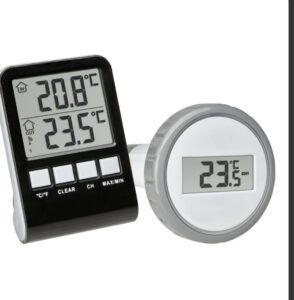 Trådløs vandtermometer